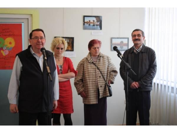Careianca Laura Seucan a expus fotografii în Sighetul Marmaţiei