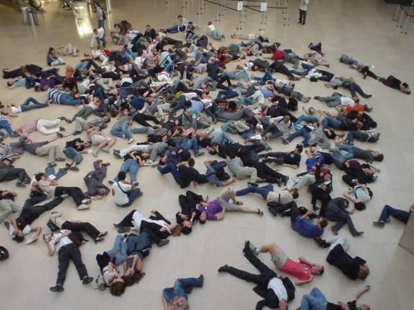 Flashmob, în premieră judeţeană