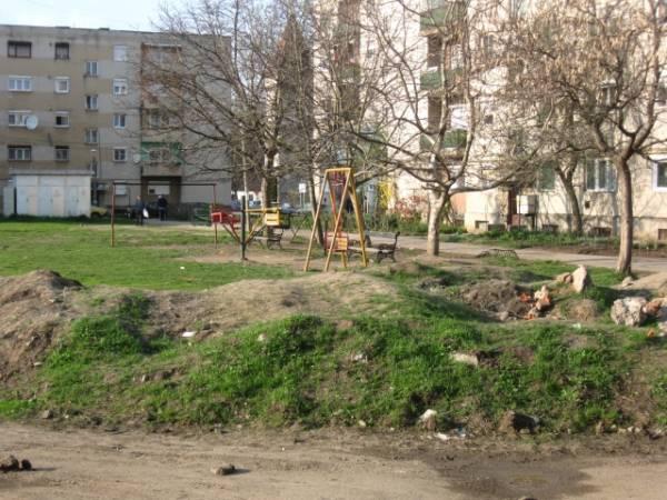 Locurile de joacă, episodul III: ghetoul din zona Zăgănescu