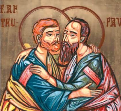 Creştinii îi sărbătoresc astăzi pe Sfinţii Apostoli Petru şi Pavel
