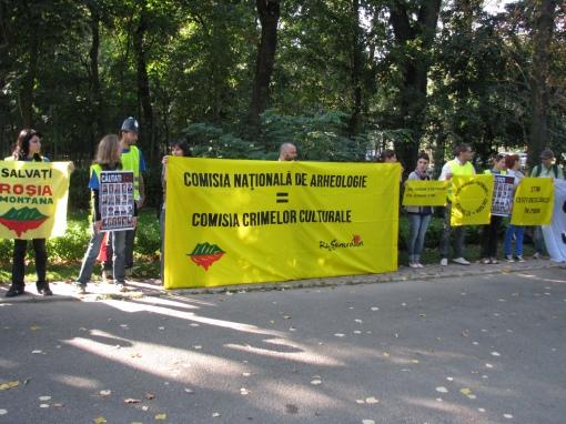 Divizia Crime Culturale a campaniei Salvaţi Roşia Montană