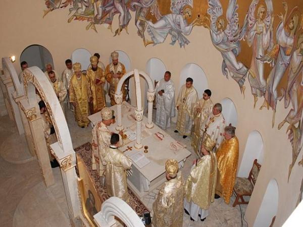 Inalţi oaspeţi la Sfinţirea bisericii Sf.Andrei