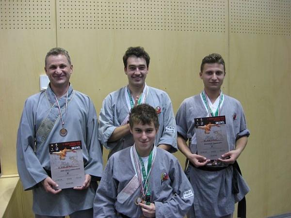 8 medalii de aur pentru CS Shaolin Carei