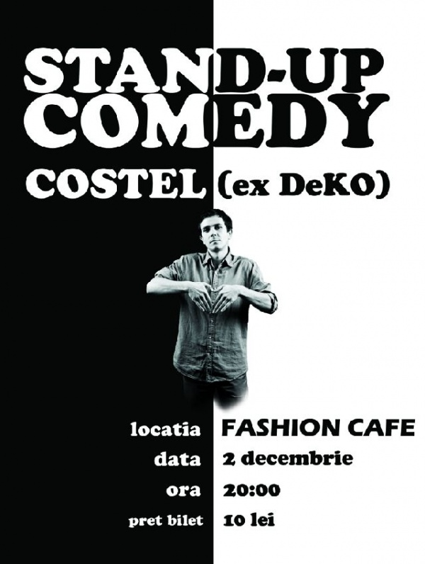 Stand Up Comedy la Carei