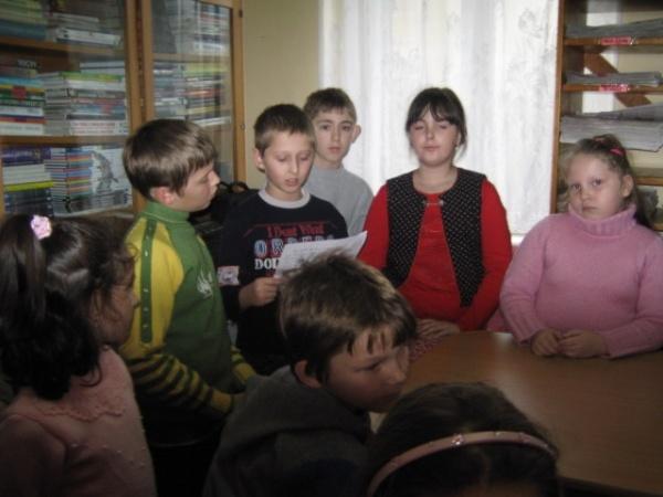Proiect educaţional prezentat  la Biblioteca Carei