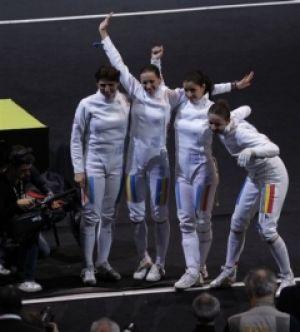 Echipa feminină de spadă, campioană mondială, performera anului 2010