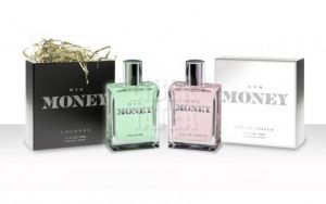 S-a lansat parfumul cu miros de bani