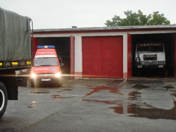 Ziua porţilor deschise la Secţia de Pompieri Carei