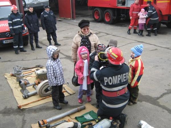 Ziua Porților Deschise la Detașamentul de Pompieri Carei