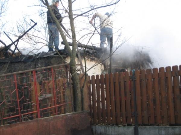 Incendiu în Sanislău