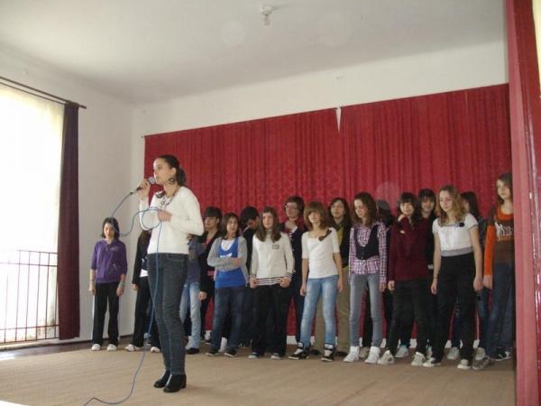 Ziua Internaţională  a  FRANCOFONIEI sărbătorită la Şcoala Vasile Lucaciu