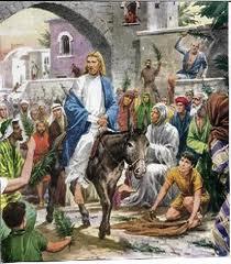 Floriile. Intrarea Domnului în Ierusalim