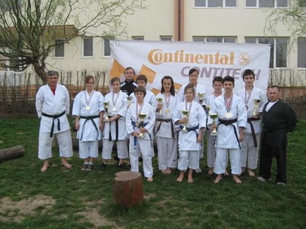Noi medalii pentru karateka din Carei