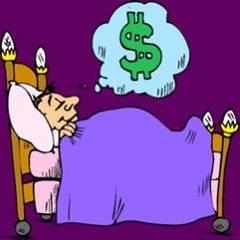 Cum apar în vise problemele legate de bani