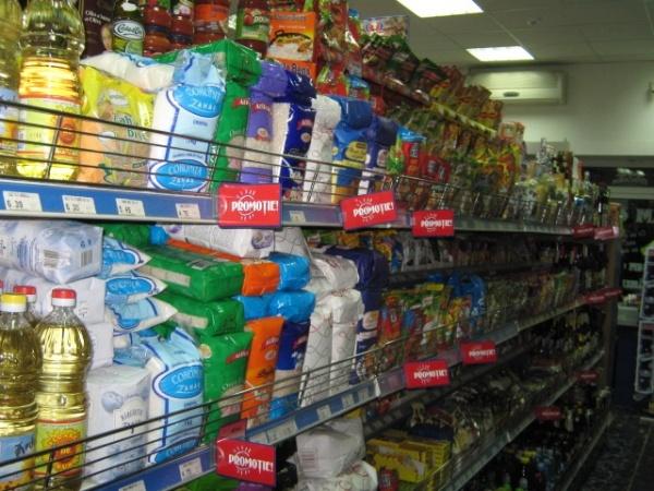 Preţurile la alimente ar putea creşte la raft cu circa 5-7 procente, în martie