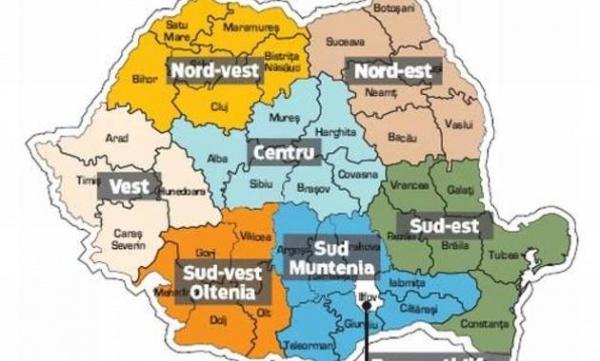 Noile capitale de judeţ: Iaşi, Bucureşti, Braşov, Constanţa, Cluj-Napoca, Craiova, Ploieşti şi Timişoara