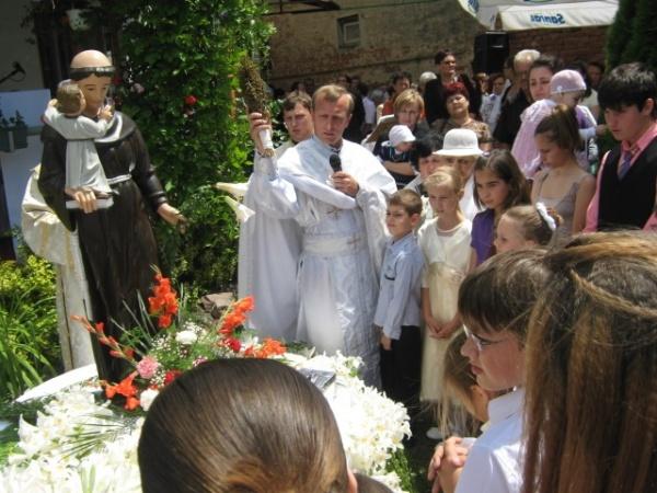 Sărbătoarea Sfântului Anton de Padova