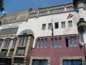 Palatul Culturii din Târgu Mureş a fost ocupat de Ungaria şi de Garda Secuiască