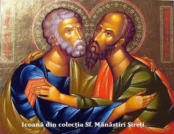 Tradiţii şi istorii de Sf. Apostoli Petru şi Pavel