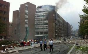 Atentate în Norvegia: șapte morți și zeci de răniți