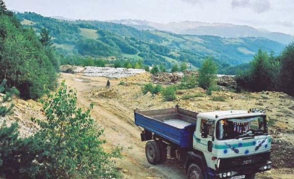 Roşia Montană– poziţie USL