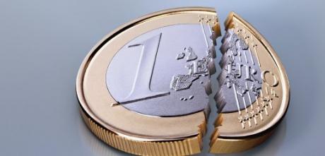 Dacă se rupe euro: Război civil, prăbuşirea băncilor, cădere de 50% a PIB