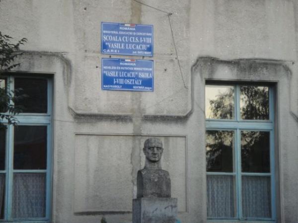"""Campanie de îngrijire a oraşului iniţiată de Şcoala""""Vasile Lucaciu"""""""