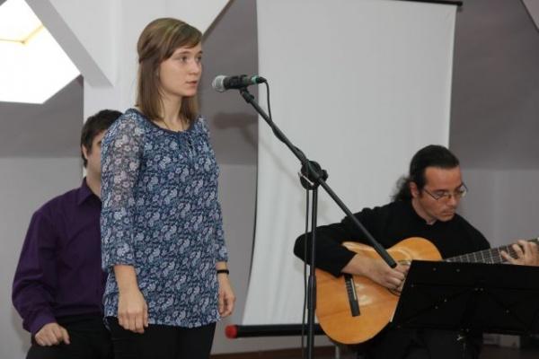 Lansarea DVD-ului Recital de poezie Adriana Claudia Zob