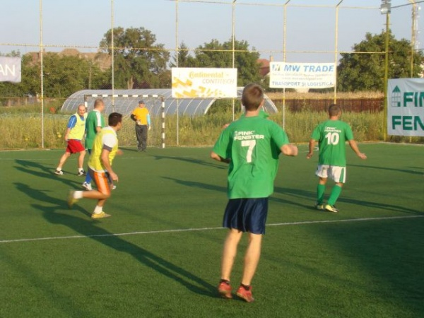 A cincea etapă a Campionatului Local de Minifotbal