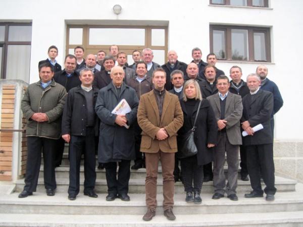 Curs de formare pentru preoţi la Oradea