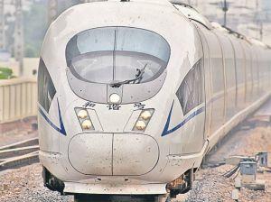 Vom avea tren de mare viteză până în China
