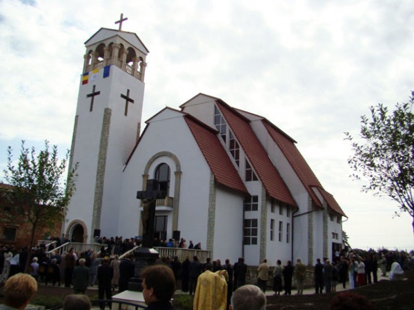 """Corul """"Magnificat"""" din Cluj-Napoca la hramul bisericii """"Sf Andrei"""" din Carei"""
