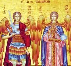 Zi de sărbătoare. Sfinţii Arhangheli Mihail şi Gavriil