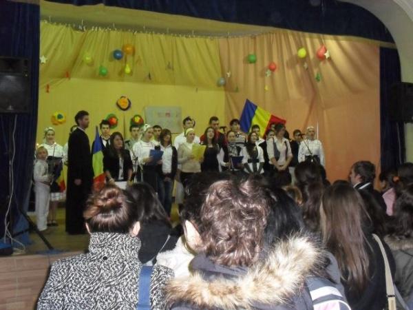 """Ziua Naţională sărbătorită la Colegiul Tehnic""""Iuliu Maniu"""","""
