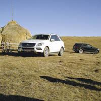 Maşina căreia nu-i pasă de gropile din România: Noul Mercedes ML