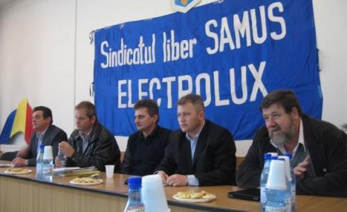 Grevă generală la Electrolux Satu-Mare
