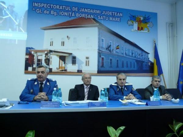 Jandarmeria la ceas de bilanţ