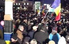 Proteste in toată ţara: Centrul Capitalei e paralizat, un jandarm a fost rănit la cap