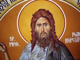 Viaţa simplă a Sfântului Ioan Botezătorul
