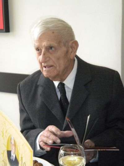 Dascălul  Vasile Ilieş la 100 de ani
