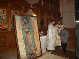 Icoana miraculoasă a Sfintei Fecioare Maria de Guadalupe soseşte la Satu Mare