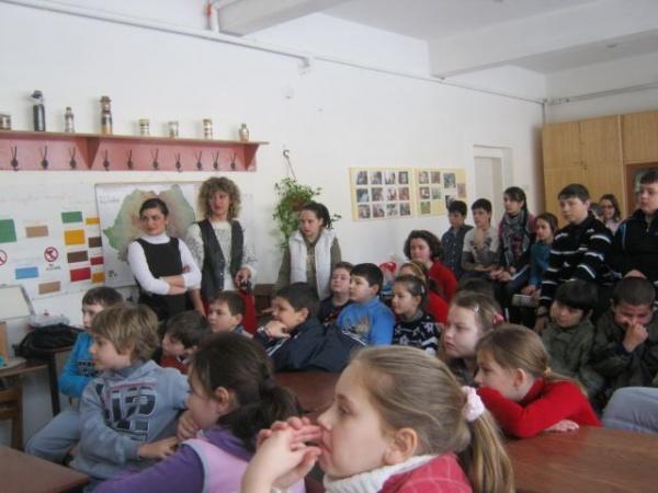 Ion Creangă sărbătorit la Şcoala Generală Nr. 3 Carei