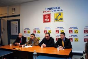 Liste comune de candidaţi USL in tot judeţul Satu-Mare