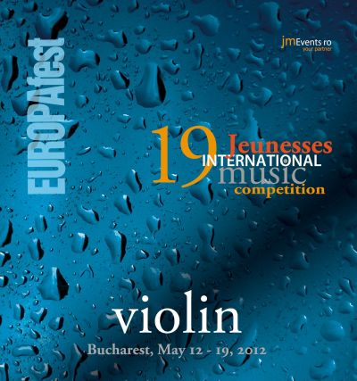 EUROPAfest 2012 – Jeunesses International Violin Competition