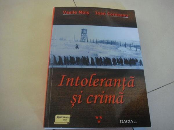 Intoleranţă şi Crimă- o nouă apariţie editorială