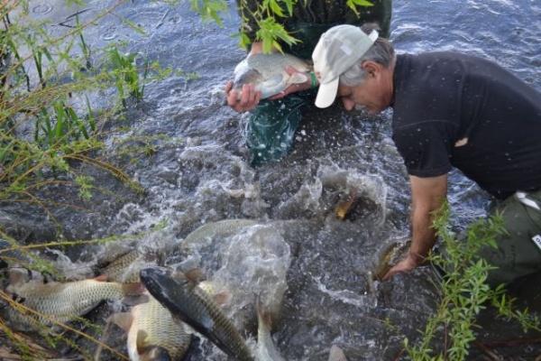 Concurs de pescuit la Lacul Ianculeşti