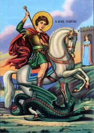Sfântul Mare Mucenic Gheorghe,purtătorul de biruinţă