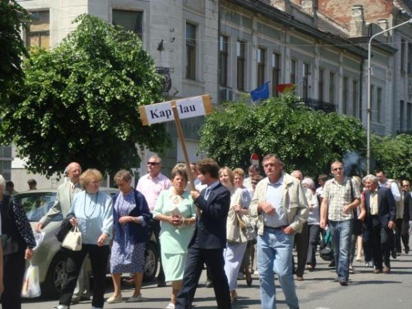 Alegeri prezidenţiale 2014: Şvabii sătmăreni au  votat preferenţial candidatul UDMR