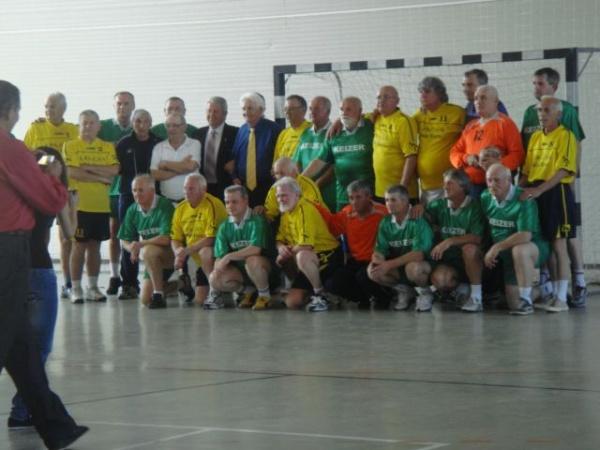 Handbal old boys la Memorialul Mircea Dohan