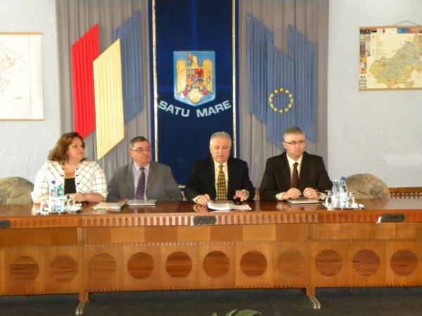 Pregătirile pentru alegerile locale analizate de Comisia tehnică judeţeană Satu Mare